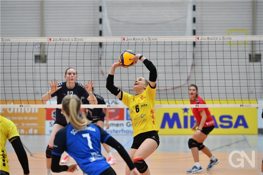 2. Bundesliga Volleyball Frauen: SC Union Emlichheim - Stralsunder Wildcats. End...