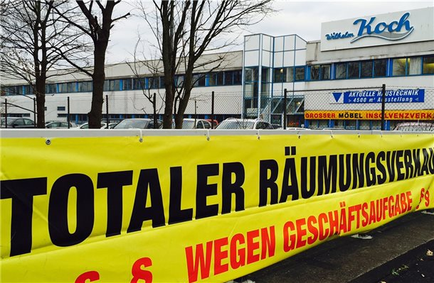 Wilhelm koch gmbh wird geschlossen for Koch haustechnik