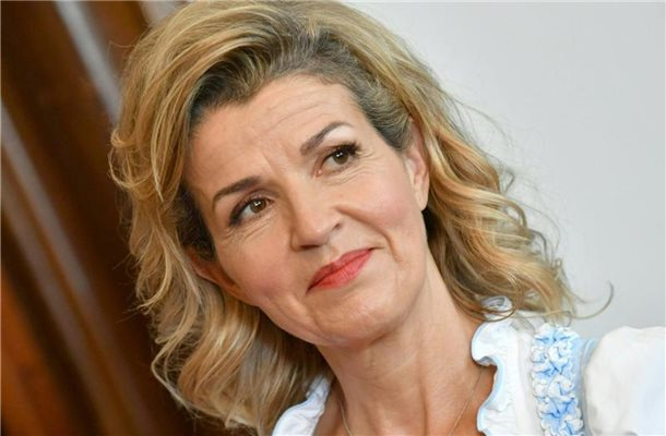 Anne-Sophie Mutter. Foto: Barbara Gindl/APA/dpa