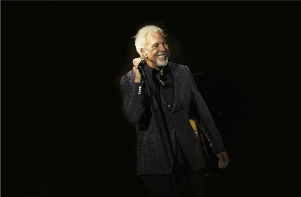 Weltstar Tom Jones singt in Lingen