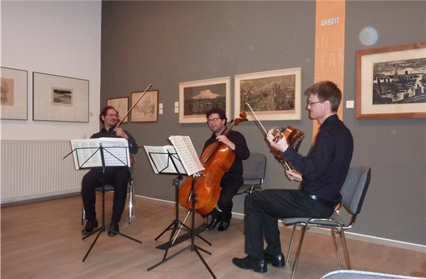 """Netherlands Symphony Orchestra"" begeistern in Pankok-Museum"