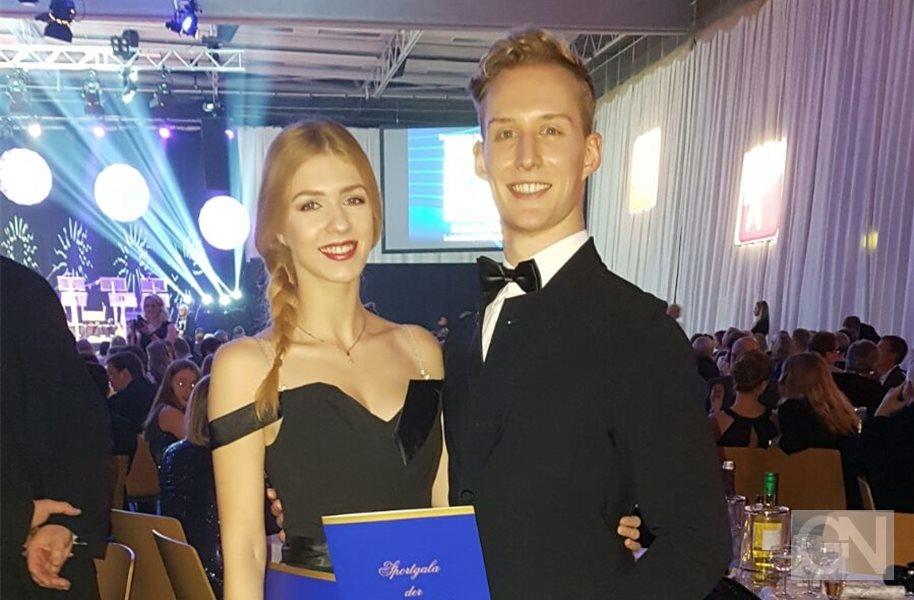 Luc Albrecht und Luise Maul: Toller Aufstieg in die S-Klasse