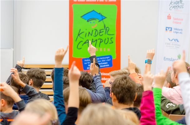 Sonne Thema beim Kindercampus in Lingen