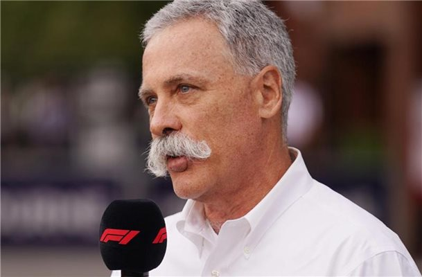 Chase Carey, Vorsitzender der Formula One Group. Foto: Michael Dodge/AAP/dpa