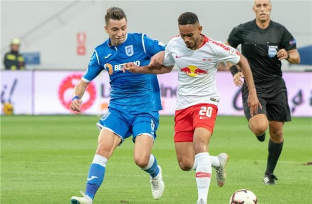RB Leipzig erreicht in Craiova Europa-League-Playoffs