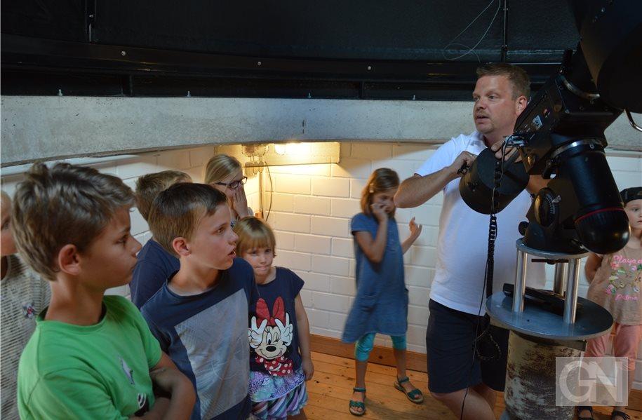 Kinder unternehmen in neuenhaus u201ereise zu den planetenu201c