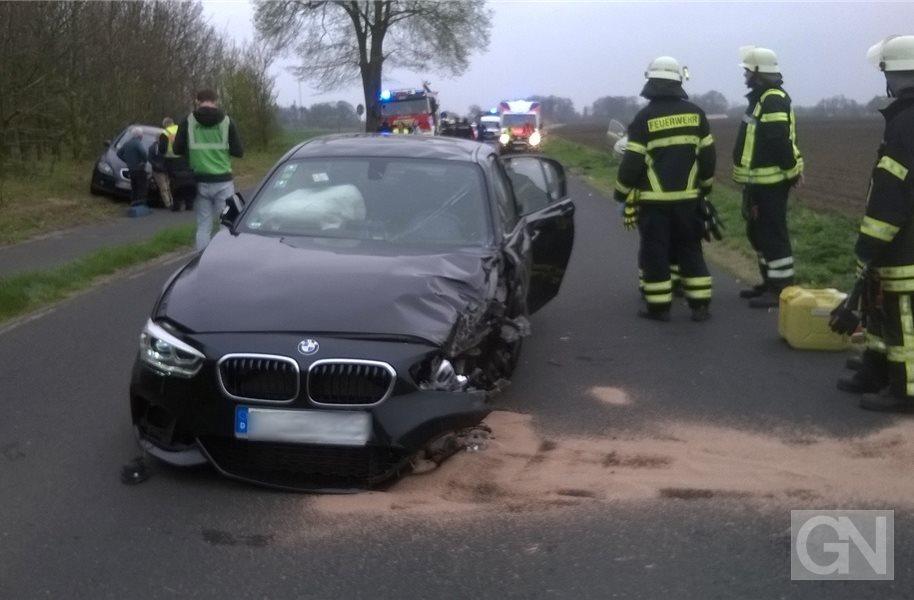 Drei Schwerverletzte bei Unfall in Lingen