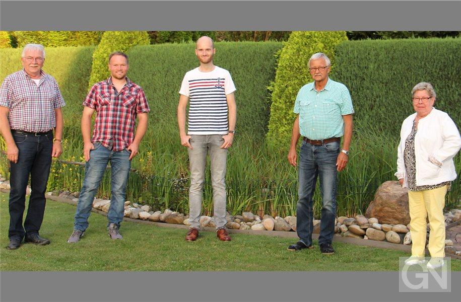 Der neue Vorstand (von links): Friedrich Reurik, Jörg Zwafink, Andreas Zwafink, Gerd Busch und Helga Busse. Foto: privat