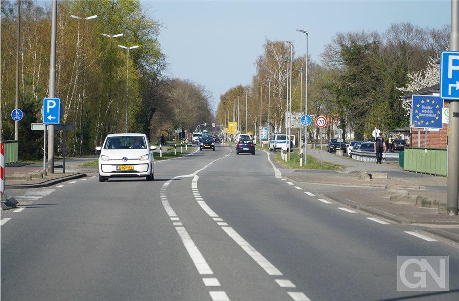 Grenzübergang Holland