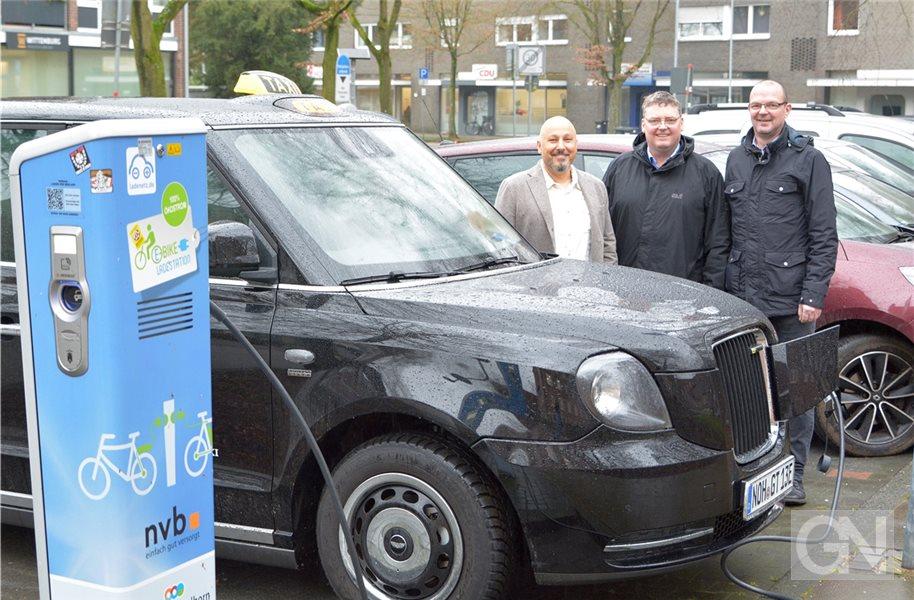 Nordhorner Taxiunternehmen setzt auf E-Mobilität