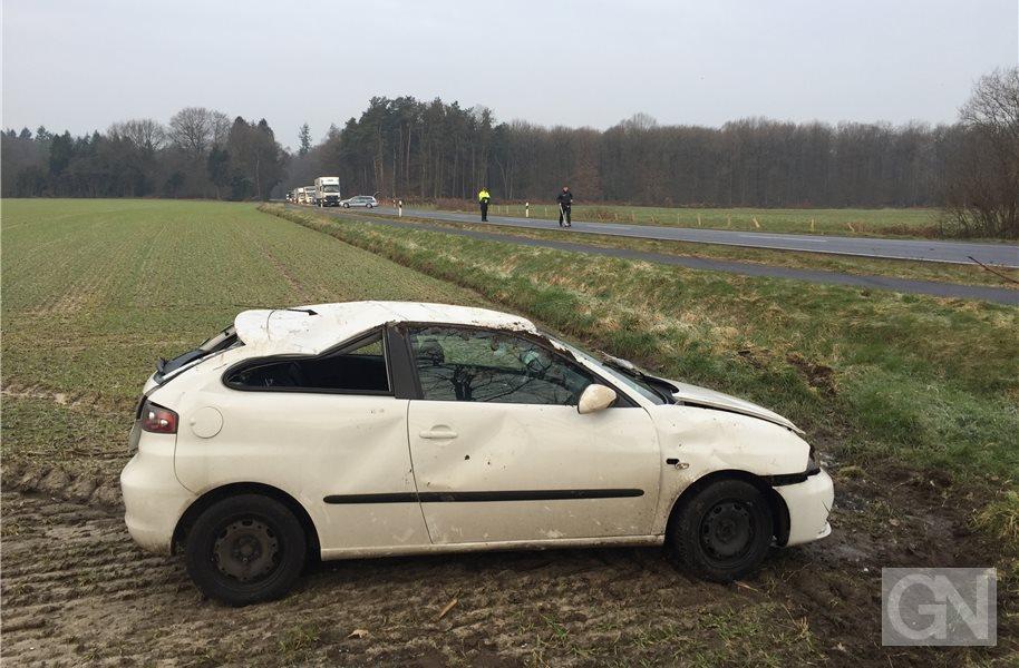 Junger Mann nach Unfall in Schüttorf in Lebensgefahr