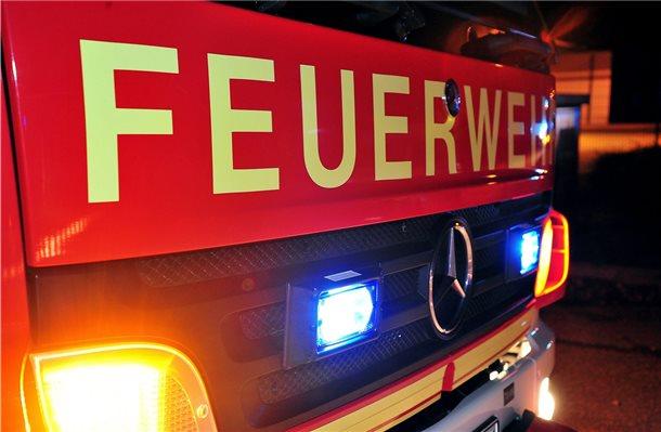 M Bel Brand Meppen müll brennt auf recyclinghof in meppen