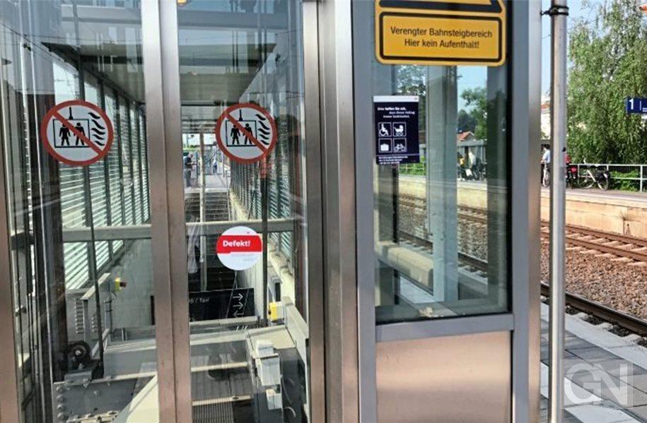 Sehr Auch in Lingen: Fahrstuhl am Bahnhof ist defekt CN68