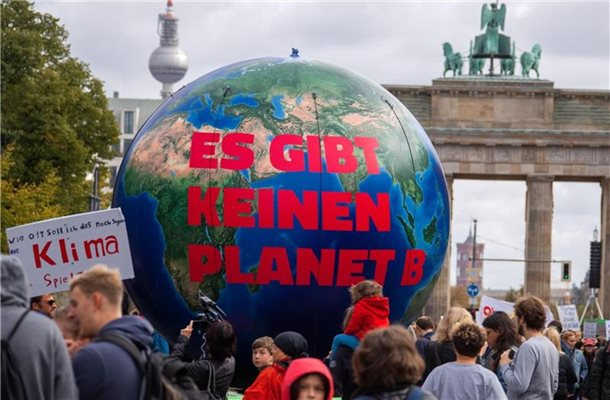 Eine Demonstration von Fridays for Future im September 2019 in Berlin. Foto: Jens Büttner/zb/dpa