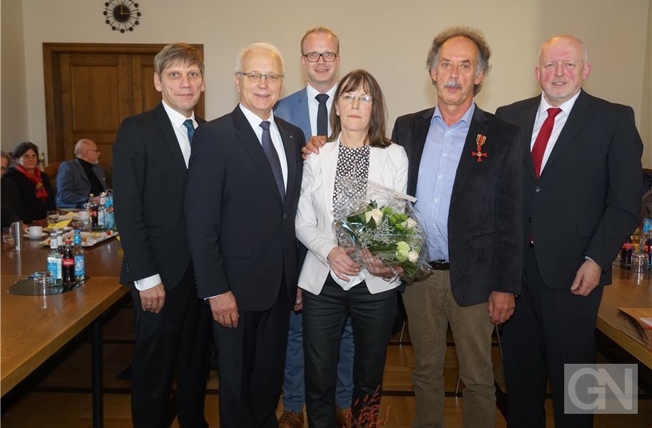 Bundesverdienstkreuz für Walter Oppel