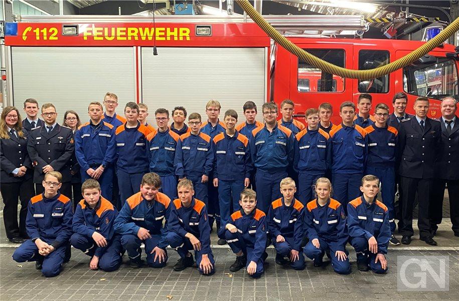 Sechs neue Mitglieder für die Nordhorner Jugendfeuerwehr