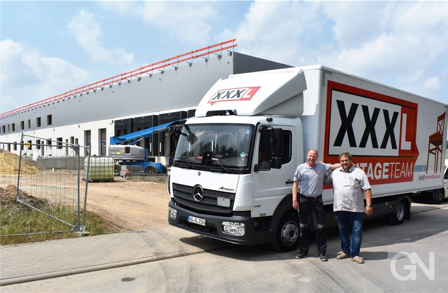 XXXLutz baut neues Logistik-Center