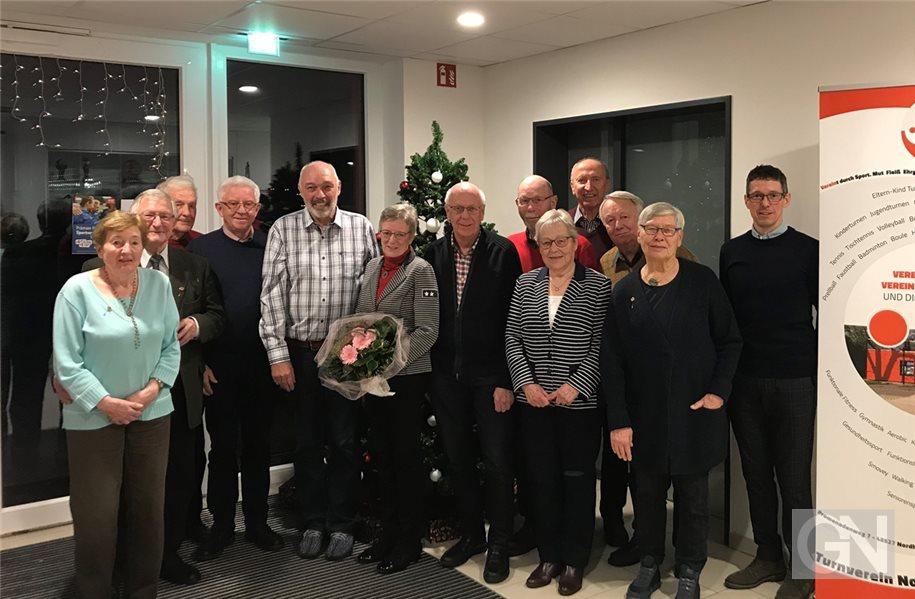 TV Nordhorn zeichnet zahlreiche Mitglieder aus