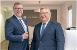 Georg H. Pauling (links) hat sein Team in Bad Bentheim mit Arnoud Jonker verstärkt. Foto: privat