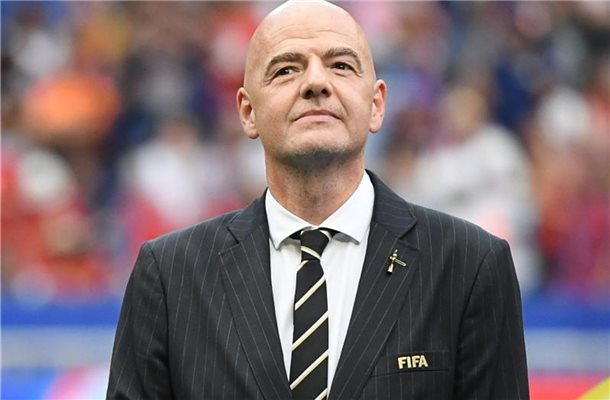 Gianni Infantino, Präsident des Weltfußball-Verbands FIFA. Foto: Sebastian Gollnow/dpa