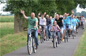 -Tage: 1341 Fietser in Laar am Start
