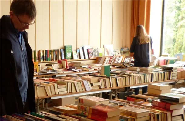 Bücherflohmarkt vom 25. April bis 5. Mai in Bad Bentheim