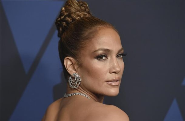 "Jennifer Lopez bei den ""Governors Awards"" 2019. Foto: Jordan Strauss/Invision/AP/dpa"