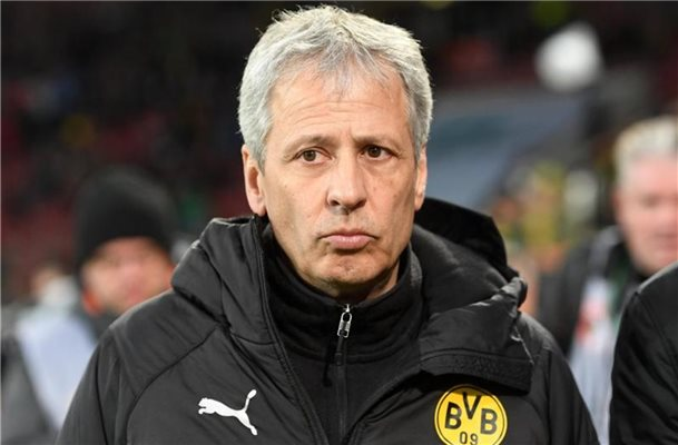 BVB-Coach Favre wortkarg in der Krise