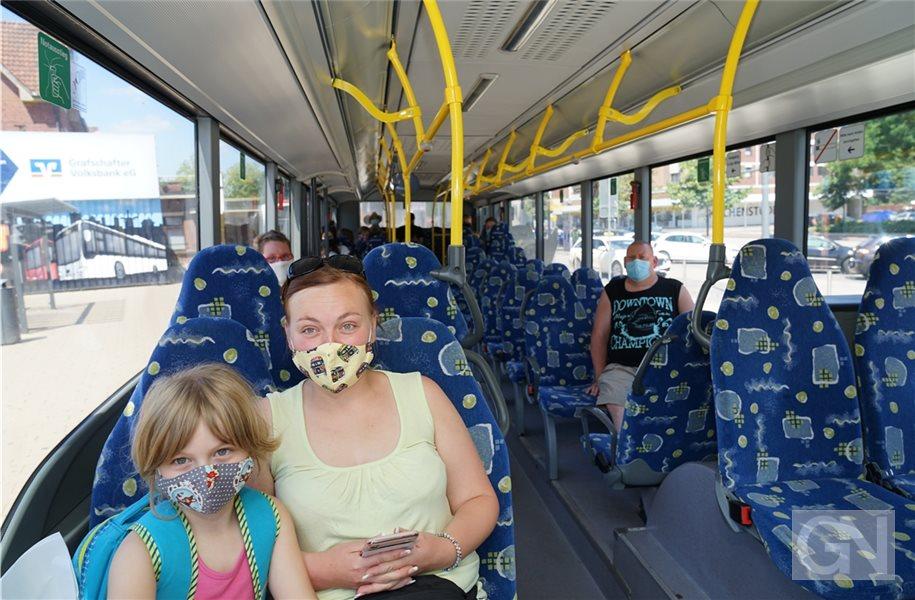 Maskenpflicht Bus