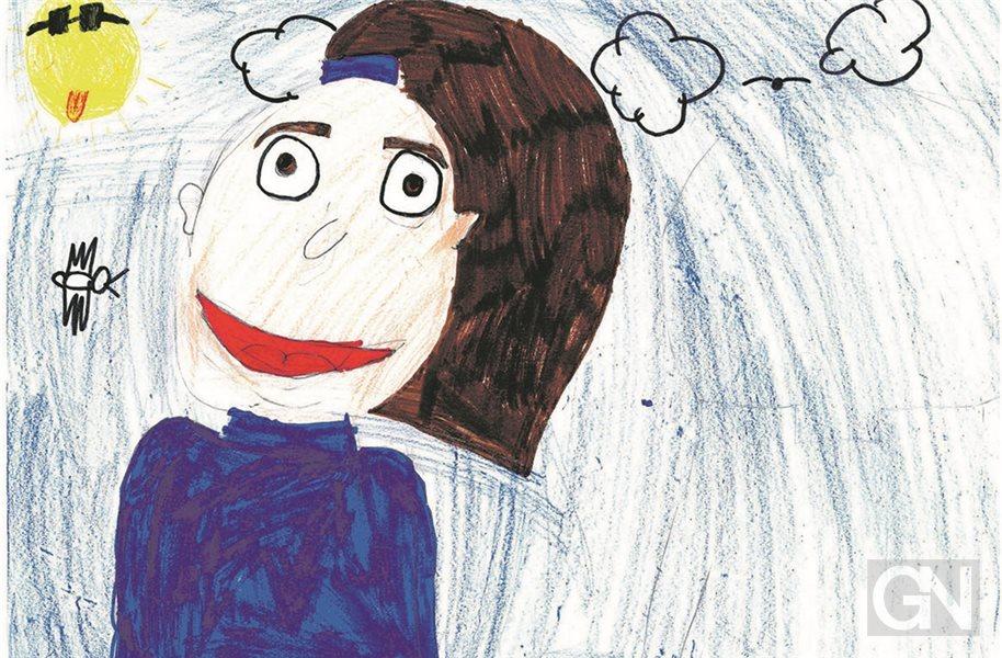 GN-Aktion: Kinder malen ihre Mama