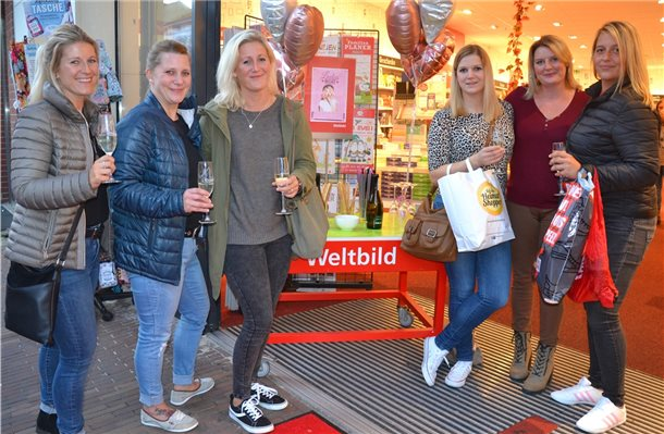 """Ladies Night"" in Nordhorn: ""Heimat shoppen"" mit Sektempfang"