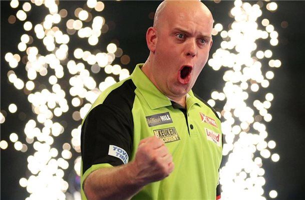 Van Gerwen will Bestmarke bei Darts-Team-WM in Hamburg