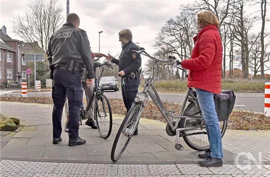 Nordhorner Polizei nimmt verstärkt Radfahrer ins Visier