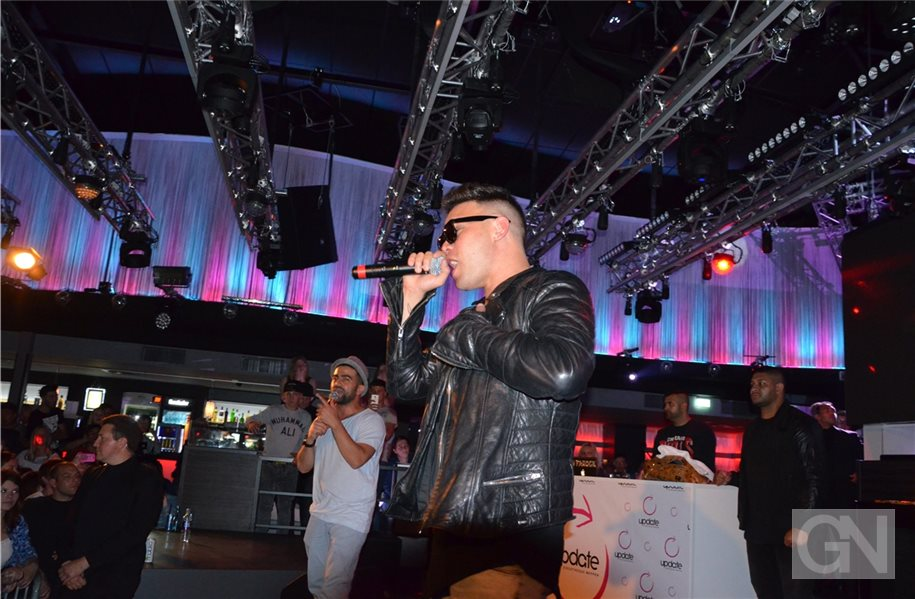 : Rapper Kay One in Meppener Disko