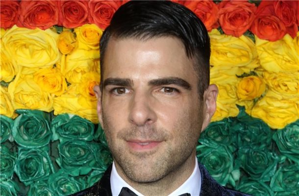 US-Schauspieler Zachary Quinto bei der 73. Verleihung der Tony Awards in der Radio City Music Hall. Foto: Nancy Kaszerman/ZUMA Wire/dpa