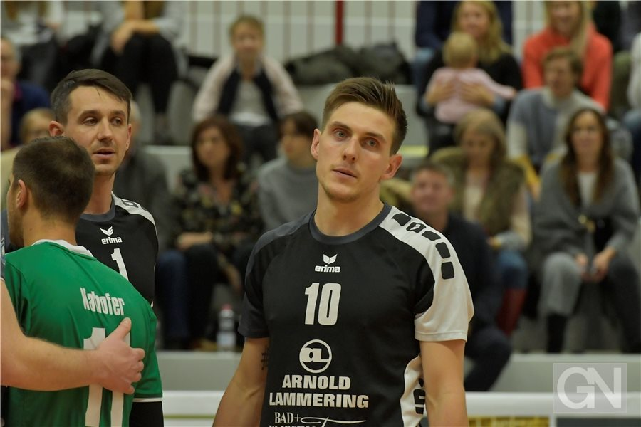 Volleyball 2. Bundesliga Männer FC 09 - SV Lindow-Gransee in de Vechtehalle in S...