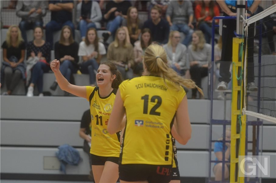 Volleyball 3. Liga SC Union Emlichheim II - TV Cloppenburg. Lisa Oudehinkel