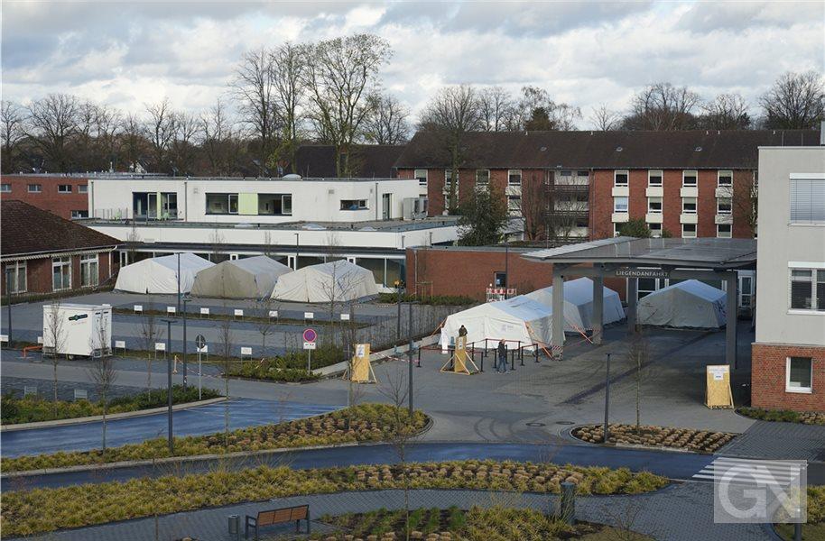 Insgesamt 28 Covid-19-Patienten in Euregio-Klinik behandelt