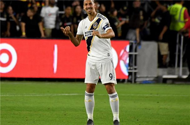 Zlatan Ibrahimovic wird Los Angeles Galaxy verlassen. Foto: Medianews Group/Pasadena Star-Ne/Orange County Register via ZUMA/dpa