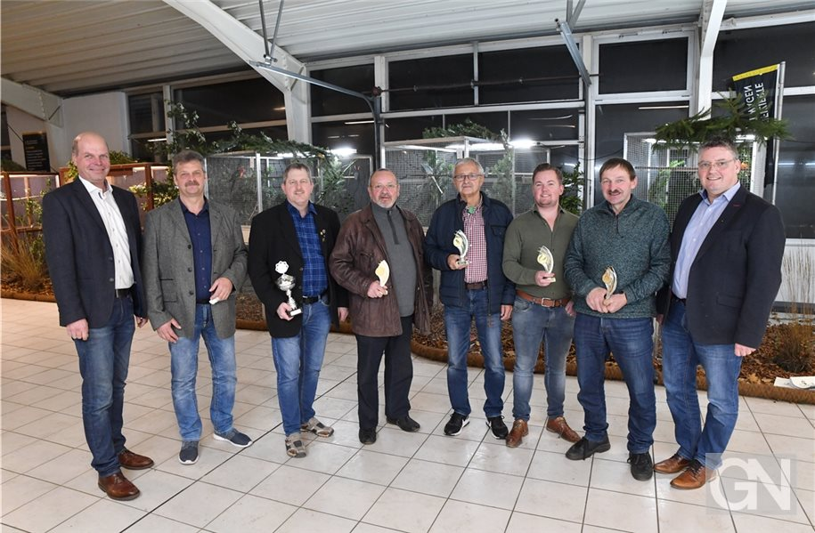 Züchter präsentieren 600 Vögel bei Nordhorner Euregioschau